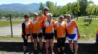 Sortie Grésy sur Isère: honneur aux dames...