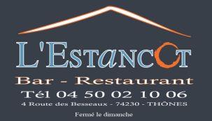 Restaurant l'estancot